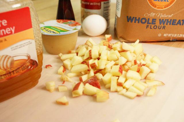 Apple Crunch Pupcakes - Lolathepitty.com