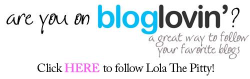 Follow Lola the pitty on bloglovin'