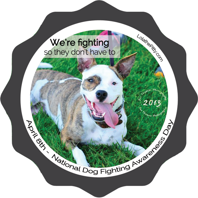 Dog Fighting Awareness Day 2015 | #GetTough lolathepitty.com
