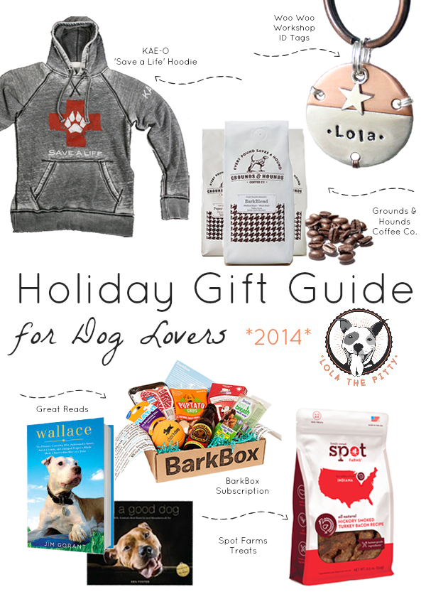 Lola the Pitty's Holiday Gift Guide for Dog Lovers!