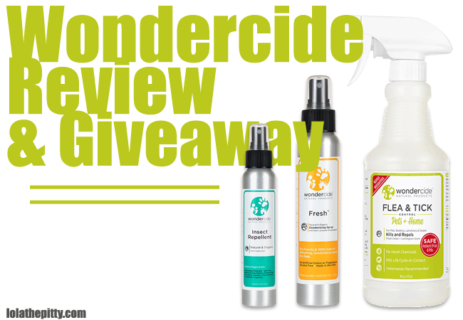 Wondercide (Natural Flea & Tick) Review and Giveaway | lolathepitty.com