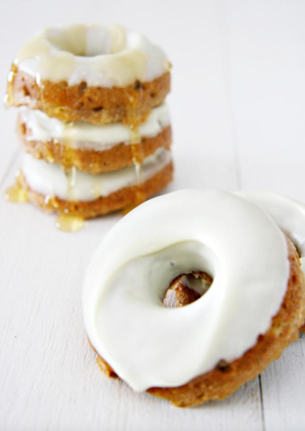 Cinnamon-Honey Dog Donuts